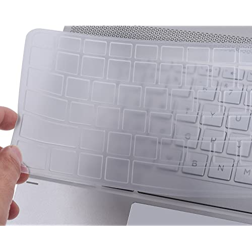 d0970eeaee CaseBuy Clear Backlit Silicon Keyboard Skin Cover for HP Spectre x360 2-in-1