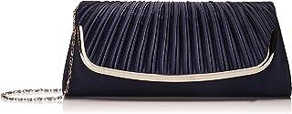 Damara Große Faltenwurf Damen Handtaschen,Marine Blau