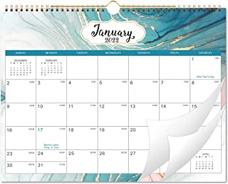 "2022 Wall Calendar - Monthly Calendar from Jan 2022 - Dec 2022, 14.8"" x 11.6"", Large Blank Blocks with Julian Dates, Stron..."
