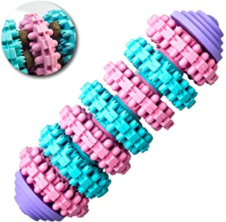 Corspet Hachi Dog Toy Durable Treat Dispenser & Teeth Cleaning | Remove Tartar & Plaque | Rubber Dog Chew Toy for Mini/Small & Puppy Dogs