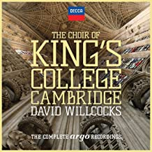 The Choir Of King's College Cambridge - The Complete Argo Recordings