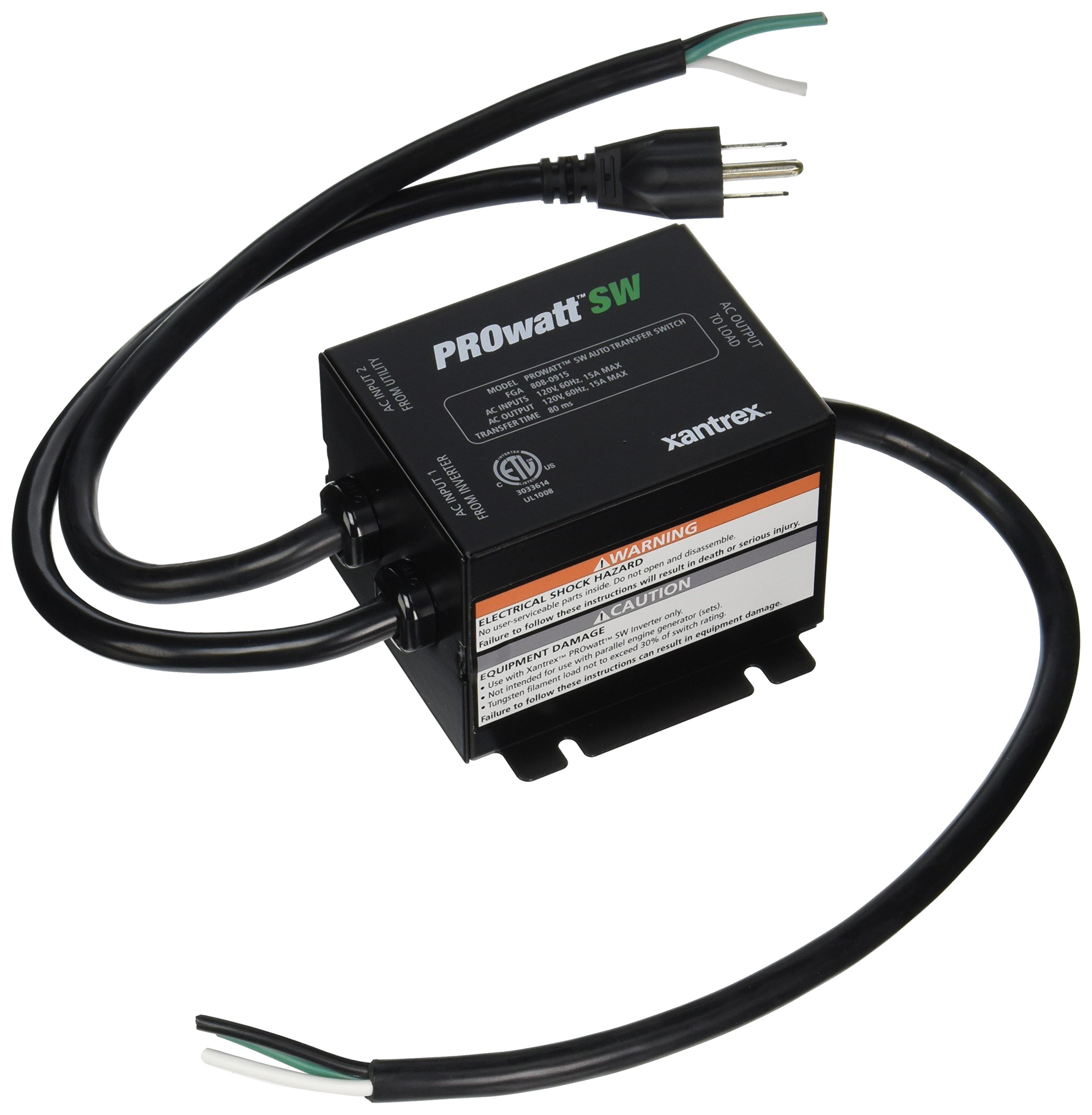 Xantrex 8080915 PROwatt Transfer Switch