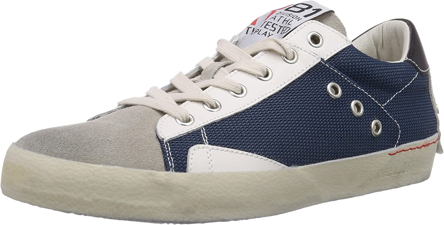REPLAY Men's Punch Low-Top Trainer