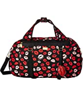 Luv Betsey - Spenzi Cotton Weekender with Yoga Holder Straps