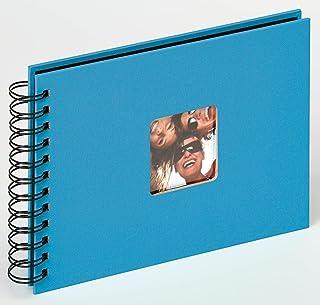 comprar comparacion Walther Design SA-109-U álbum de Caracol Fun, 23x17 cm, 40 páginas Negras, con el Corte para un Foto, Azul océan