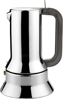 Alessi Espresso Maker 9090 by Richard Sapper, 6 Espresso Cups