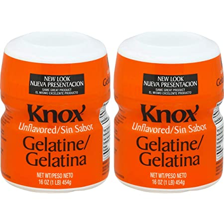 Knox Unflavored Gelatin (16 oz Boxes, Pack of 2)