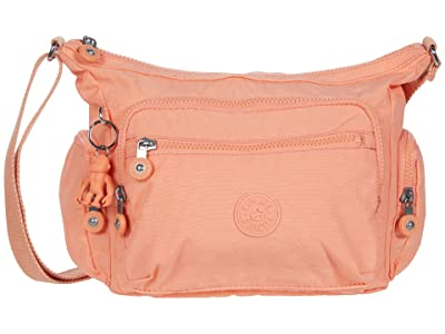 Kipling Gabbie Small Crossbody Bag (Peachy Coral) Handbags
