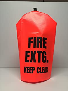 FIRE Extinguisher Cover (PEK 200) 5 Pack - NO Window - Small, fits 5-10 lbs extinguishers