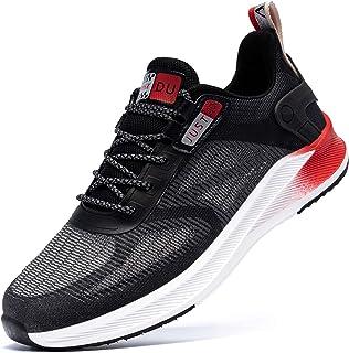 MHXDU Laufschuhe Herren Leichte Sportschuhe Atmungsaktiv Sneaker Fitness Outdoor Straßenlaufschuhe Tennis Gym Joggingschuh...