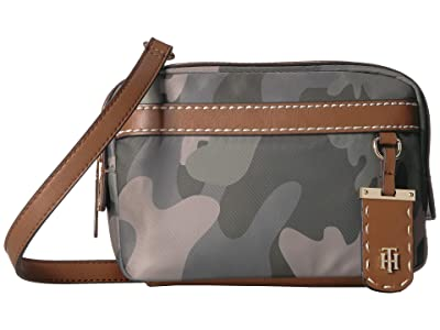 Tommy Hilfiger Julia Camo Belt Bag (Green/Multi) Handbags