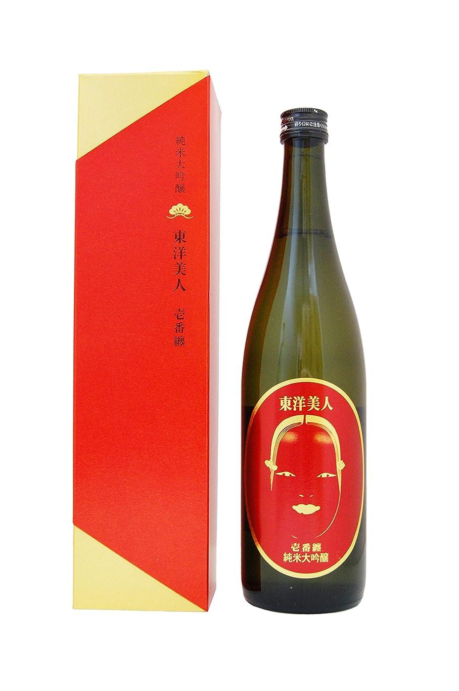 地味なコンデンサー週間東洋美人 純米大吟醸 一番纏 720ml