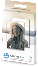HP Photo Paper exclusively for HP Sprocket Plus Instant Photo Printer, (2.3