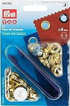 Prym 4110950 Ringen en schijven 8mm goud - 24 stuks