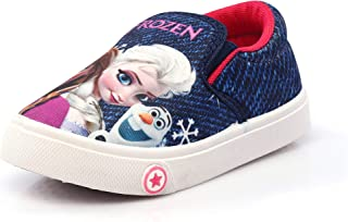 Kats Kids Baby Girl mk-19 Casual Slip -on Walking and Running Shoes for 2-5 Year Child