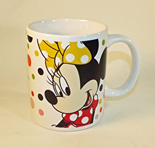 Zak! Designs Minnie Mouse Dotty Ceramic Mug, 11.5 oz.