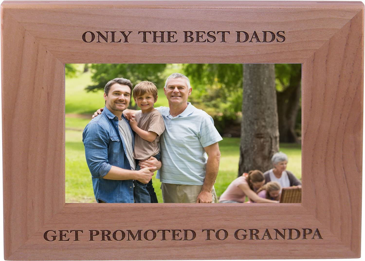 Only The Best Ranking TOP13 Dads Get Promoted Wood 4x6 Grandpa Super special price to Picture Inch