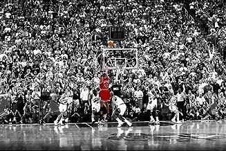 Michael Jordan Last Shot 1998, Peel and Stick Removable Wall Decals Sticker (36