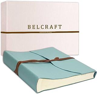 Belcraft Capri Album Fotografico in Pelle, Album Portafoto, Scrapbook, Realizzato a Mano da Artigiani Toscani, Include Sca...