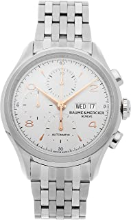 Baume & Mercier Clifton Mechanical (Automatic) Silver Dial Mens Watch M0A10130 (Certified Pre-Owned)
