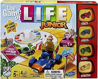 Hasbro 英語版 人生ゲーム ジュニア 遊びながら楽しく英語学習 [並行輸入品]