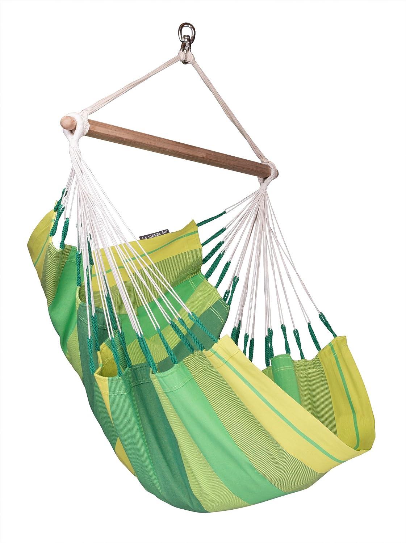 LA SIESTA H/ängestuhl Basic aus Baumwolle Orquidea Jungle