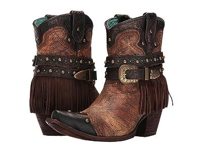 Corral Boots C2880 (Metallic/Cognac) Women