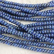 "Blue Lapis Lazuli Gemstone Rondelle Faceted Beads 3.5 mm 13/"" 1-10 Loose Strand"