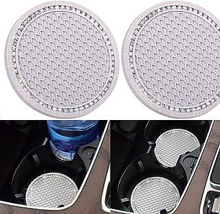 Porta-copos DBlosp universal para veículo com suporte para porta-copos e acessórios interiores de carro - 7 cm de silicone...