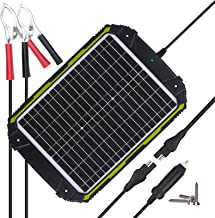 Sun Energise Waterproof 12V 20W Solar Battery Charger Pro - Built-in MPPT Charge Controller + 3-Stages Charging - 20 Watts...
