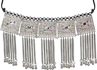 Sansar India Choker Necklace for Women (Multi-Colour) (987)