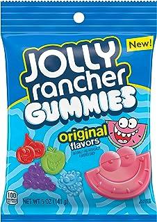 Jolly Rancher Gummies Original Fruit Flavors Candy, 5 Oz