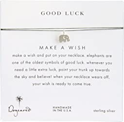 Dogeared - Make A Wish Luck Elephant Necklace