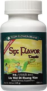 Six Flavor ECONOMY SIZE, 1000 ct, Plum Flower