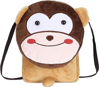Cute Small Toddler Backpack for Girl Boy Kids Plush 3D Animal Cartoon Mini Preschool Bag for Children Age 1-5 Years Old