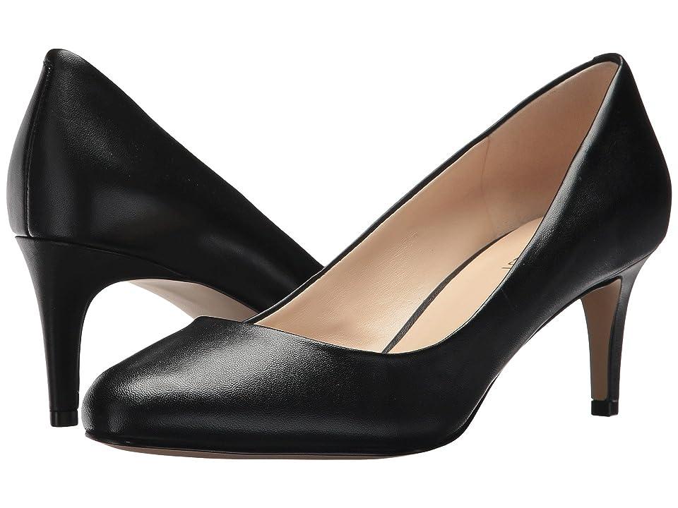 Nine West Cassidy (Black Leather) Women