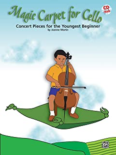 Magic Carpet for Cello: Concert Pieces for the Youngest Beginners, Book & CD