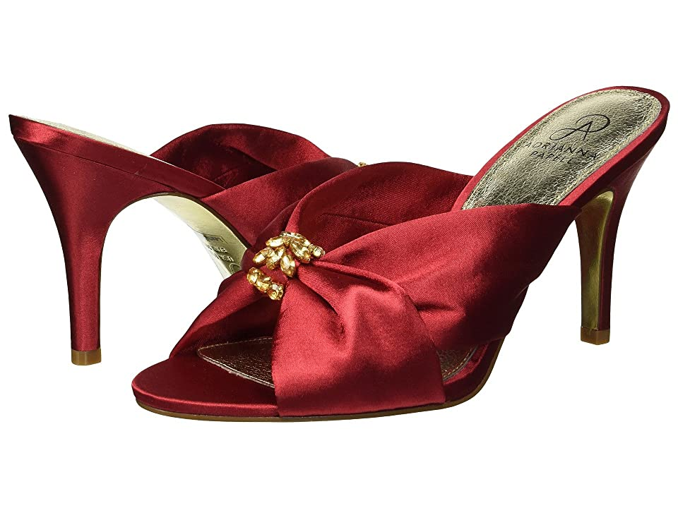 Adrianna Papell Flo (Red Satin) Women