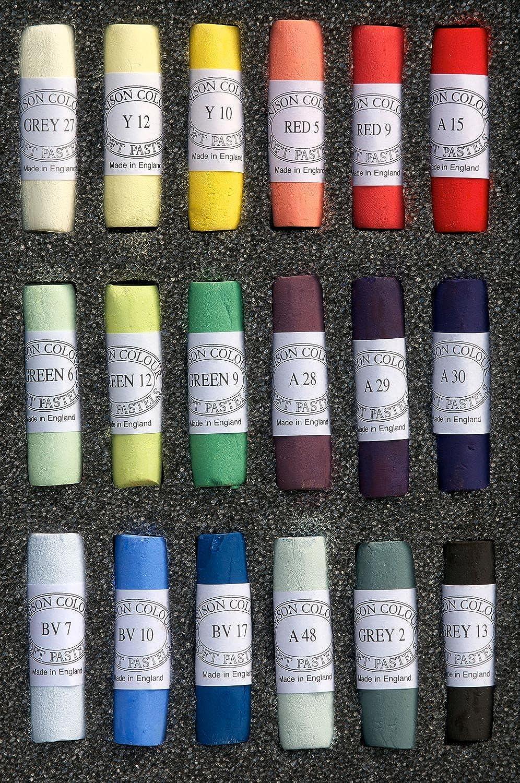 Unison Soft Pastel Set  18 Mixed Colours