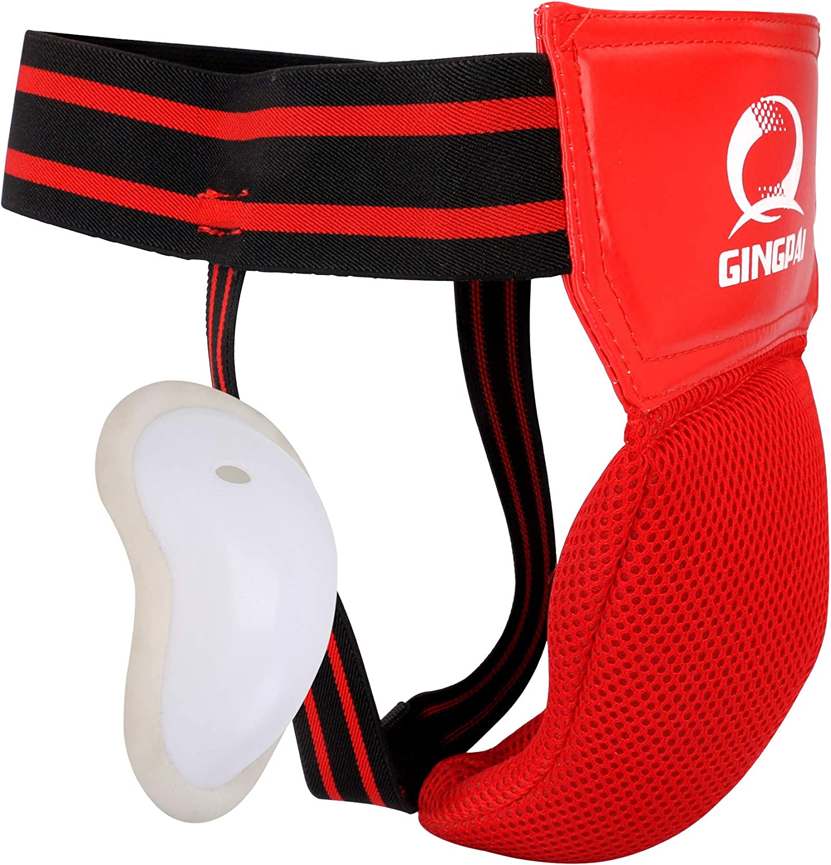 GINGPAI BOXING MMA Crotch Protector Guard Groin Karate Super sale Finally resale start TKD