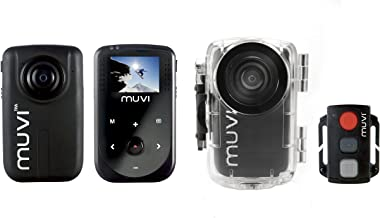 Veho Muvi 1080p HD Pro Mini Camera HD10 with Wireless Remote + Waterproof Case