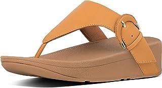 FitFlop Lottie Buckle Toe Thong Women's Sandals