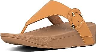 FitFlop Womens X63 Lottie Buckle Toe-Thongs