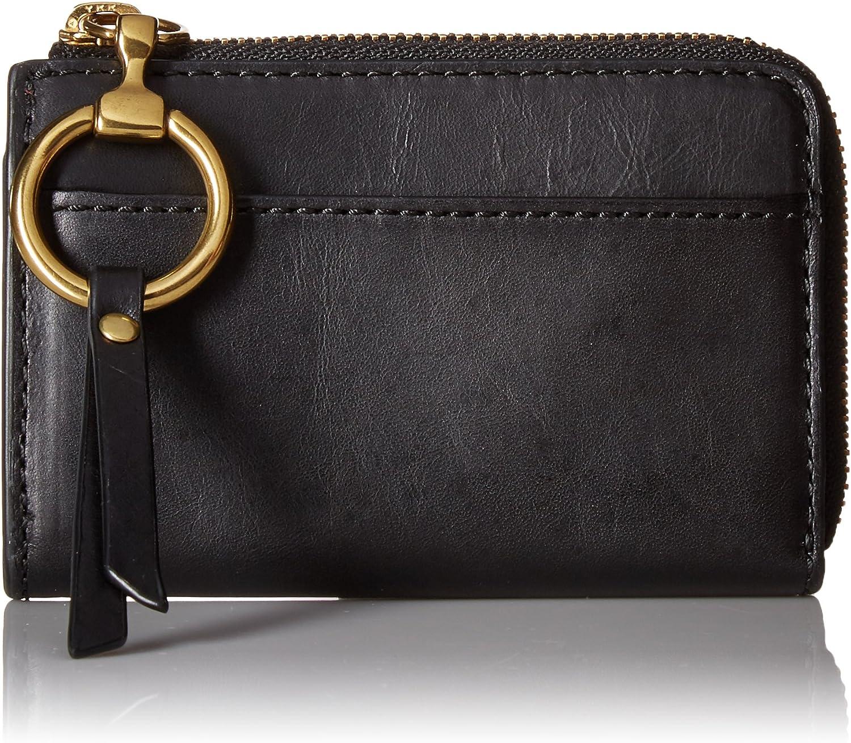 Ilana Harness Small Zip Wallet Wallet, BLACK, One Size