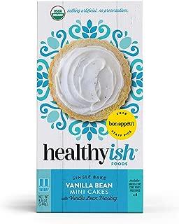 Healthyish, Organic Vanilla Bean Cake Mix with Vanilla Bean Frosting- Makes 4 Mini Cakes