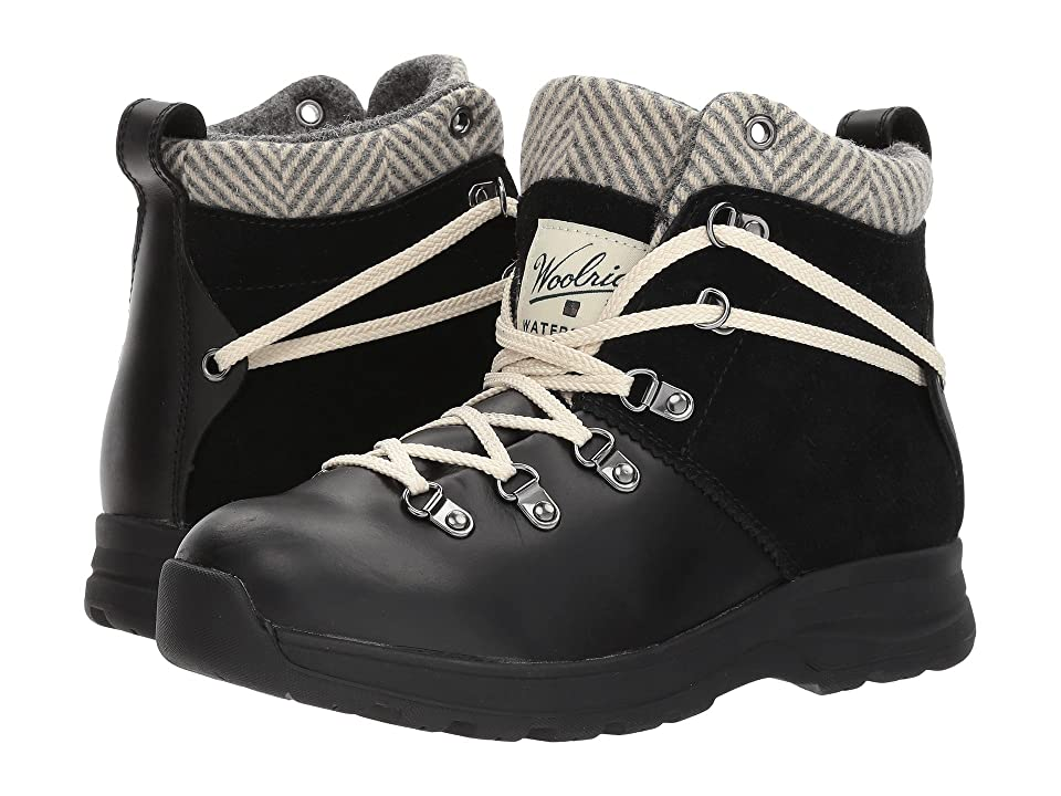 Woolrich Rockies II (Black/Herringbone) Women