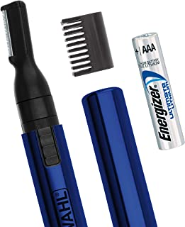 Wahl Lithium Pen Detail Trimmer for Nose, Ear, Neckline, Eyebrow, Other Detailing - Blue - By the Brand Used By Professionals - Model 5643-400