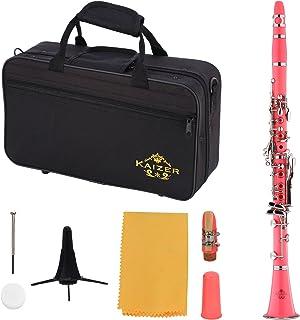 Kaizer Clarinet B Flat Bb Pink CLE-1000PK