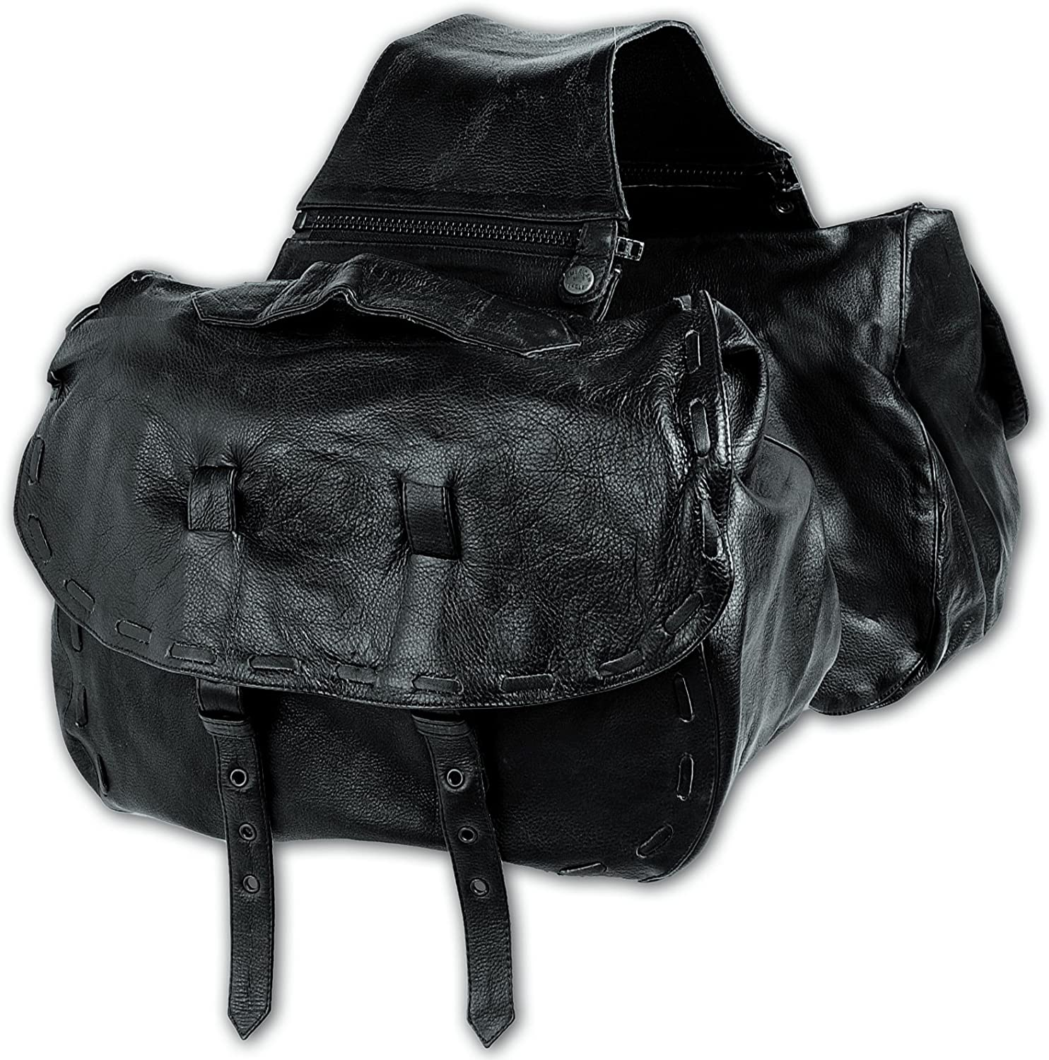 A-Pro Panniers Saddle Bags Leather Soft Motorcycle 格安店 Fit 税込 Universal
