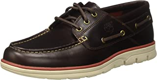 Timberland Bradstreet 3 Eye Brown Leather Boat Shoes